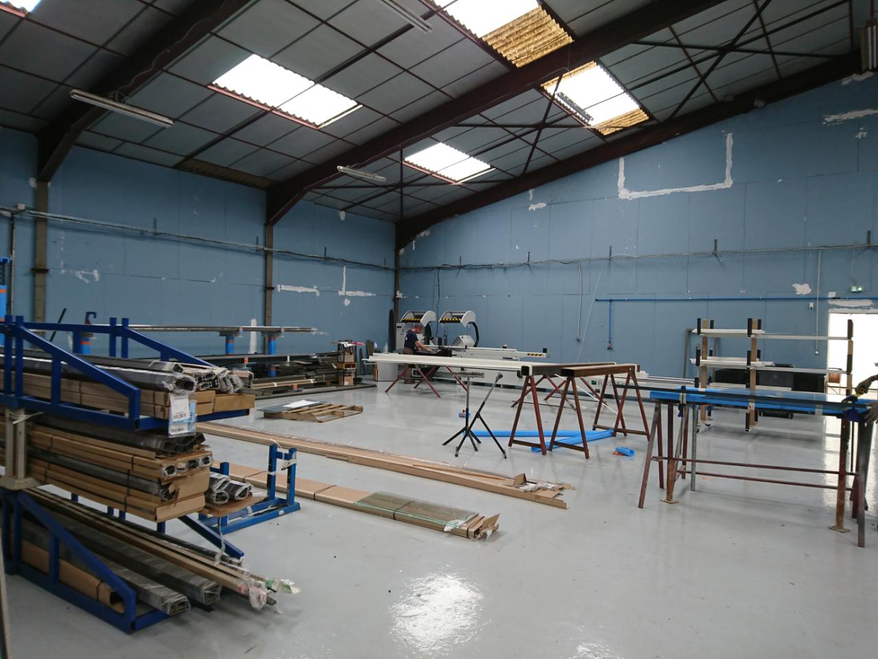 Fabrication menuiserie aluminium